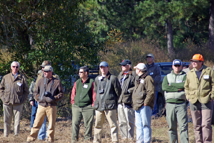 Groton Plantation field day attendees