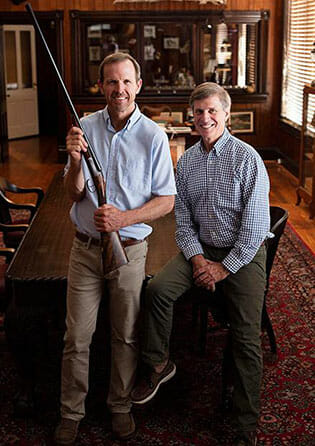 Bill Palmer and Kevin Kelly with Longleaf Gun