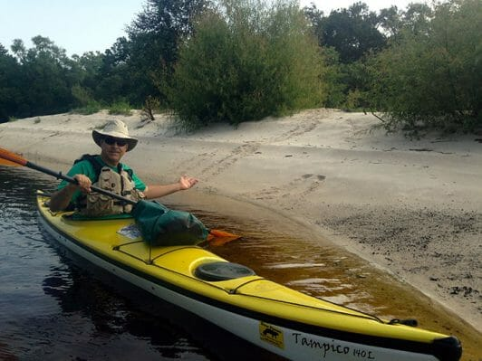 Doug Alderson_paddling Ochlockonee