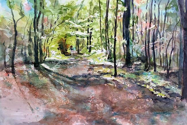 Florida Woods by Yoshiko Murdick