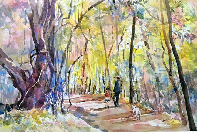 Their Walk by Yoshiko Murdick