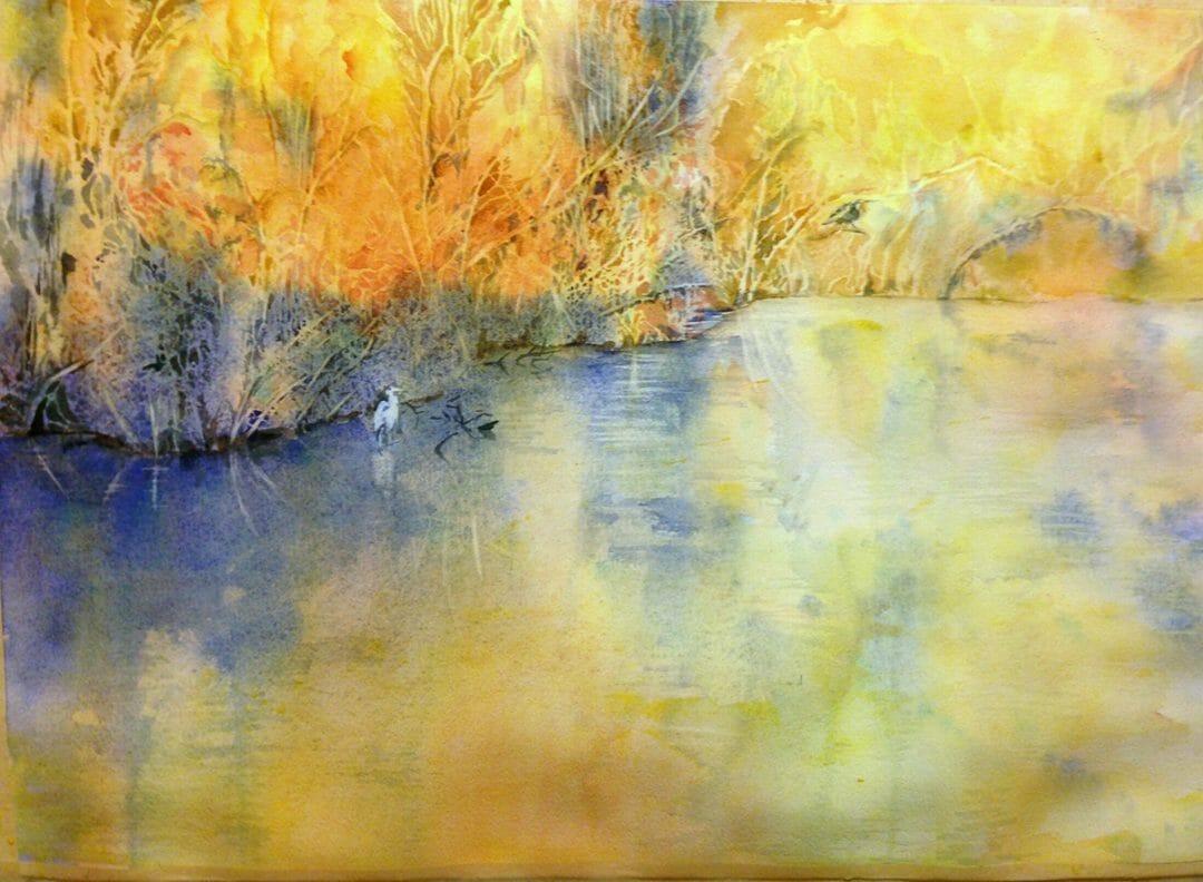 Golden Pond by Yoshiko Murdick